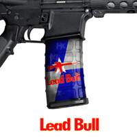 GunSkins® M4 MAG Skin x 3 - Lead Bull