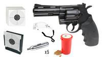 "SWISS ARMS 357 4"" CO2 Full metal 4,5mm Startpaket"