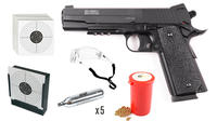 Swiss Arms SA 1911 CO2 4,5mm Startpaket