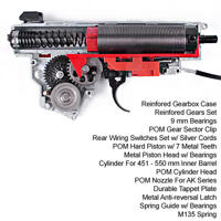 King Arms Ver.III Rear Wiring Complete Gearbox for AK Series - M135
