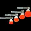 Mini Spinner Targets 4 Pack