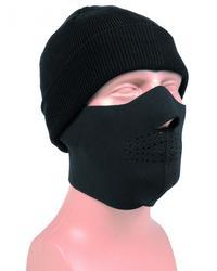 Miltec Half Face Protection Svart/Woodland