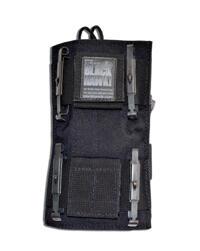 Blackhawk Tac Vest Radio Pouch w/BTS Black Univeral Fit