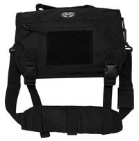 "MFH Shoulder Bag, small, ""MOLLE"", Black"