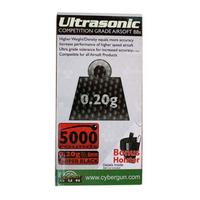 UltraSonic Competition Grade 0,20 - 5000st Svarta