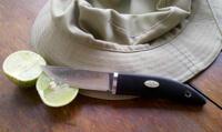 Fällkniven KKL (Kolt Kniven) - Läder och Zytelslida