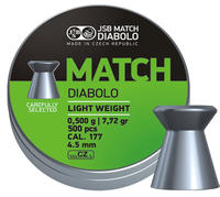 JSB Match Diabolo, Pistol 4,48mm 0,475g