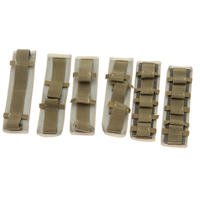 Snigel Design Elastiska fästband med karborrefäste (6) -10