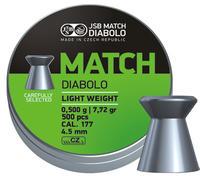 JSB Match Diabolo, Pistol 4,52mm 0,5g