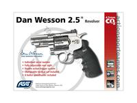 "Dan Wesson 2,5"" revolver CO2 4,5mm"