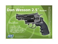 "ASG Dan Wesson 2.5"" revolver 6mm"