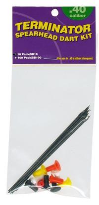 Blåsrörspilar Spearhead 10 Pack