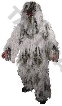 Ghillie Suit Winter 4pcs M/L