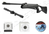 Luftgevärs Kit Crosman Raven 4,5mm