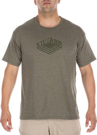 5.11 Tactical Stronghold Tee Military Green Heather