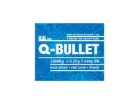 ASG Airsoftkulor Q-Bullet, 0.25g - 20 kg. box