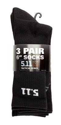"""5.11 Tactical Socka 6"""" 3-pack"""