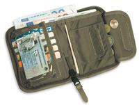 Tasmanian Tiger RFID Blockerande Plånbok Olive
