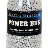 Spartan Power BB's 0,25 8200 stk i Flaska