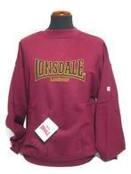 Lonsdale Crewneck Sweatshirt - Rumba Red
