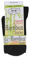 MFH Bamboo Sock 3-pack - Black