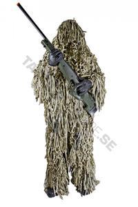 Jackal 3-D Body System Ghillie Suit Jungle Camo M/L