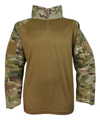 101 Inc Combat Shirt Multi Camo