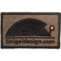 Snigel Design  Logo Patch Kardborre