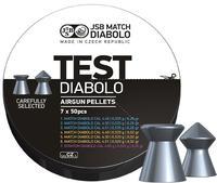 JSB Match Diabolo, Test Gevär 4,49, 4,50, 4,51mm