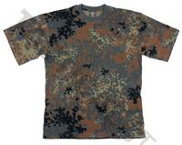T-shirt Flecktarn
