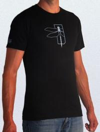 Haley Strategic Dragonfly T-Shirt Black