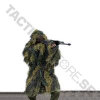 Ghillie Parka 'Anti Fire' Woodland