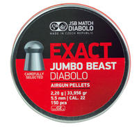 JSB Exact Jumbo Beast 5,52mm - 2,200g 150st