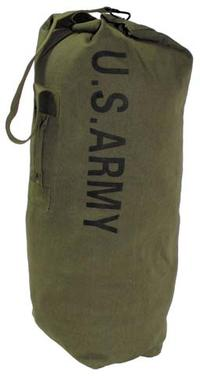 US Duffel Bag, OD green, with carrying strap