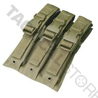 Condor Tactical MP5 3 Mag Pouch Molle OD