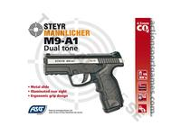 ASG Steyr M9-A1 CO2 4,5mm NBB Dual color