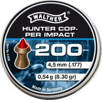 Walther Hunter Copper Impact 4,5mm, 200st