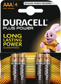 Duracell Plus Power - AAA