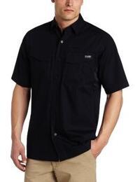 Blackhawk - LtWt Tactical Shirt - Short Sleeve - Black - Small