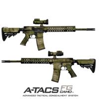 GunSkins® AR-15/M4 Skin - A-TACS FG