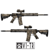 GunSkins® AR-15/M4 Skin - Valdyr V1-TR