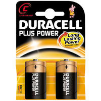 Duracell Plus Power C - 2-pack