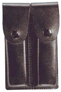 Dubbel Magasinficka Läder 5904