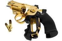 "Airsoft Revolver Dan Wesson 2.5""Gold 6mm"