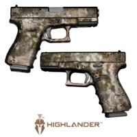 GunSkins® Pistol Skin - Kryptek Highlander