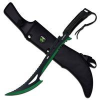 Z-hunter Machete Black/Green
