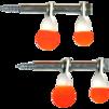 Double Mini Spinner Target 2 Pack