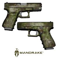 GunSkins® Pistol Skin - Kryptek Mandrake