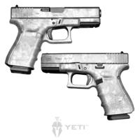GunSkins® Pistol Skin - Kryptek Yeti