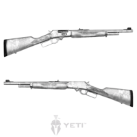 GunSkins® Rifle Skin - Kryptek Yeti
